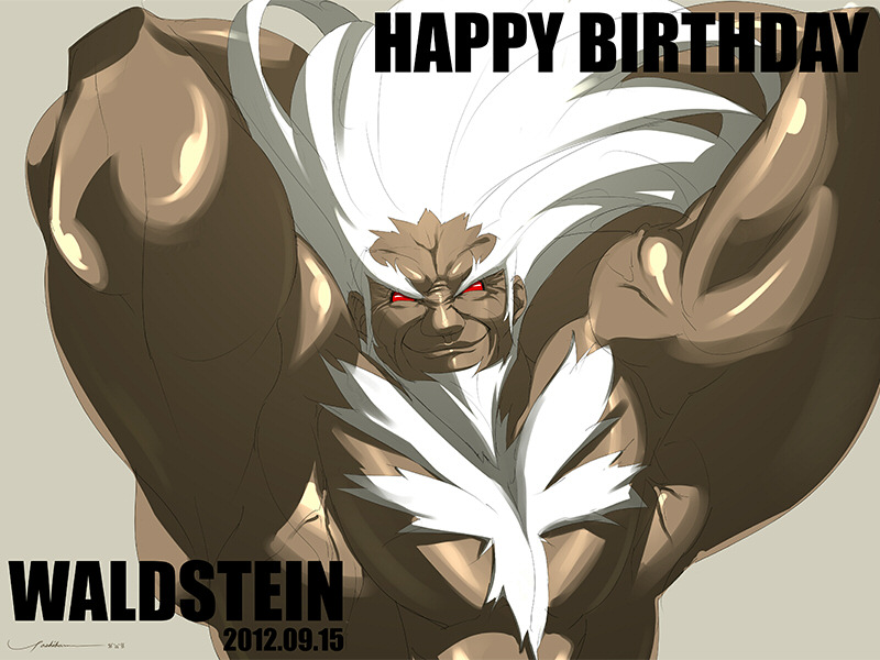 Happy Birthday Waldstein!