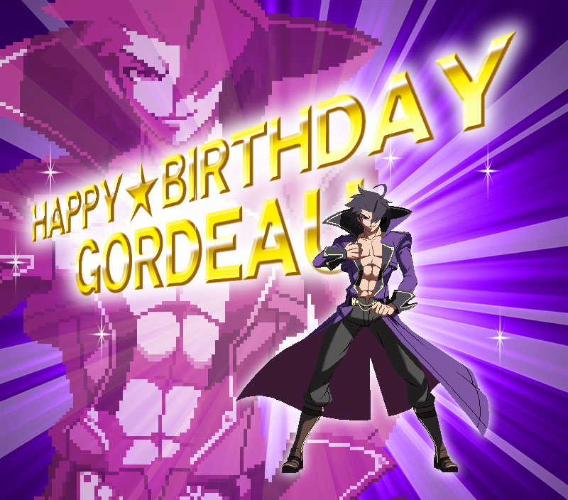 Happy Birthday Gordeau!(イラスト:六秒)