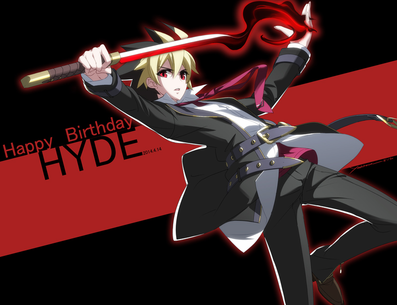 Happy Birthday Hyde!