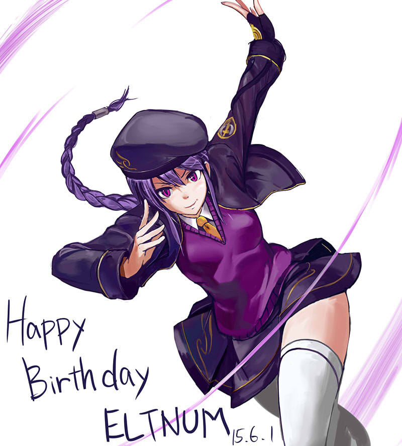 Happy Birthday Eltnum!(イラスト:中原悠佑)